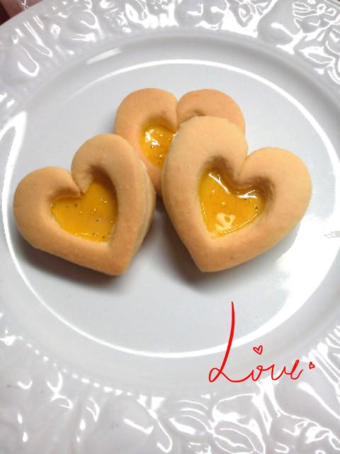 バレンタインに簡単★ジェルクッキー
