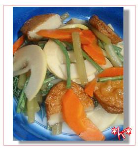 春の山菜煮