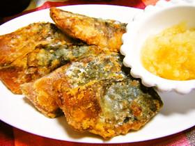 おろしポン酢de鯖の竜田揚げ