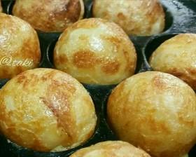 小麦粉&計量カップで簡単♡関西人たこ焼き