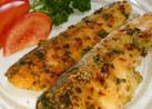 鮭の変わりパン粉焼き&フライ