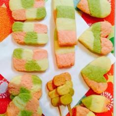 お雛祭り♡春色クッキー