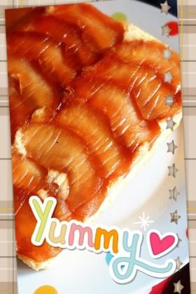 HMで林檎ケーキ