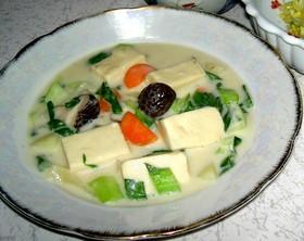 高野豆腐のクリームシチュー