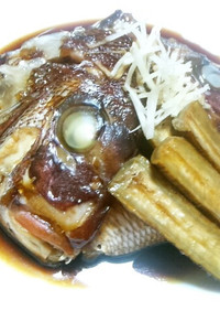 元魚屋が教える!簡単・鯛のあら炊き