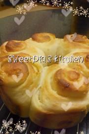 ♡ホワイトチョコ入り酒粕パン♡の写真