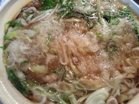 水菜と豚肉で簡単みぞれ鍋