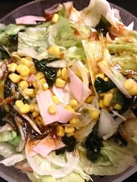 簡単!レタスと玉ねぎのサラダ