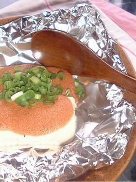 おいしい~焼きたらこマヨ豆腐
