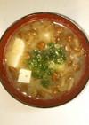 簡単!なめこと豆腐の味噌汁