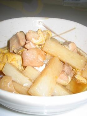 長芋と鶏肉の甘辛煮