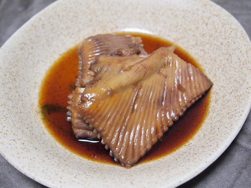 北海道の家庭から*かすべの煮付け