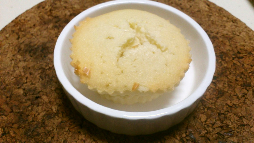 豆乳のフィナンシェ風ホワイトマドレーヌ