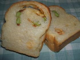オニオン&チーズ@ミニ食パン