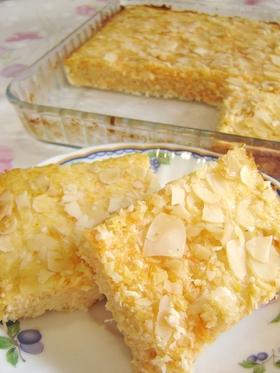 小麦粉不要☆キャロットココナッツケーキ