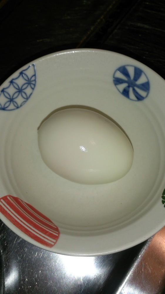 レンジで簡単!ゆで卵!