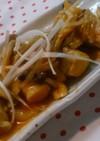 激ウマ!肉巻き高野豆腐のキムチあんかけ♡