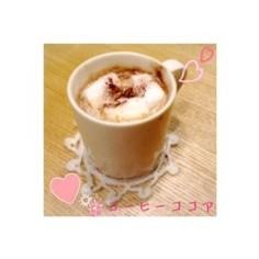 ホッとひと息*コーヒーココア♡