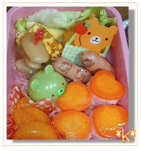 幼稚園のお弁当♪画像