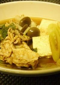 豚肉のキムチスープ
