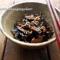 お弁当に♪昆布と椎茸の佃煮