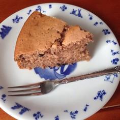 超簡単ふわふわチョコバナナケーキ♡