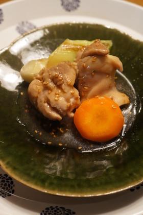 軟らか☆鶏肉の胡麻照煮