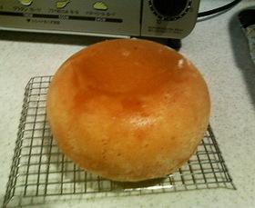炊飯器ケーキ!ふわふわだぁ!
