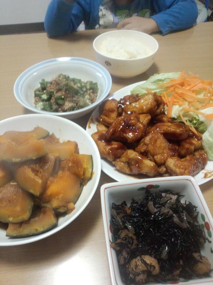 鶏ムネ肉の甘辛あげ★