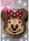 立体ケーキ◆キャラ◇ミニー