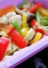 シリコンスチーマー鶏肉と温野菜 柚子風味