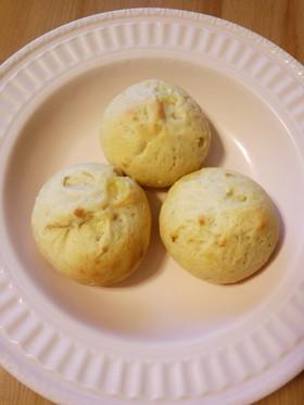 大豆粉MIXでふわふわもっちりパン