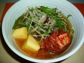 ヘルシー冷麺