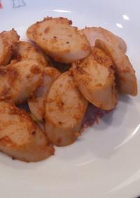 魚肉ソーセージのケチャップパルメ炒め☆