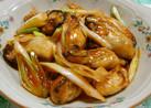 牡蠣のピリ辛プリプリ炒め♬