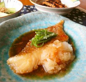 麵つゆで簡単☆鱈のおろし煮
