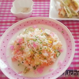 ☆鮭のレモン混ぜ寿司☆ひなまつり