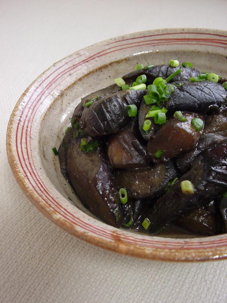 ナスの甘味噌常備菜。