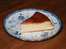 mamakissの生クリーム、バターも使わないカロリーOFFを目指す★ベイクドチーズケーキ★