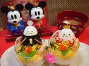 カップちらし寿司でひな祭り♡茹で玉お雛様の写真