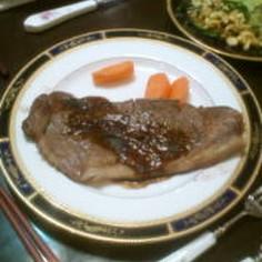 安い肉DE本格ステーキ(おまけ:高級肉)