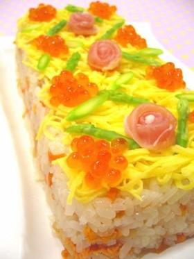 ひな祭りケーキ寿司♪