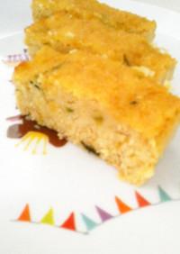 しっとり生おからの蜂蜜南瓜パウンドケーキ