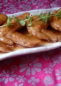 簡単★鶏肉でマーマレード煮