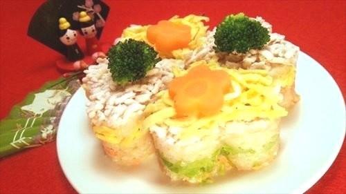 犬用 ひなまつり押し寿司