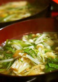 ♡エバラプチッと鍋deささっとスープ♡