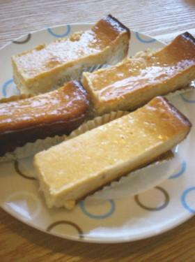 まったりバナナチーズケーキ
