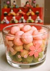 ✿ひな祭り✿サクサク雛あられ風クッキー