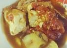 簡単♪和風*厚揚げのトマトツナ煮