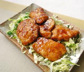 鶏むね肉のトンテキソース